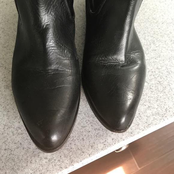 77 frye shoes frye sz9 black leather scrunch boots