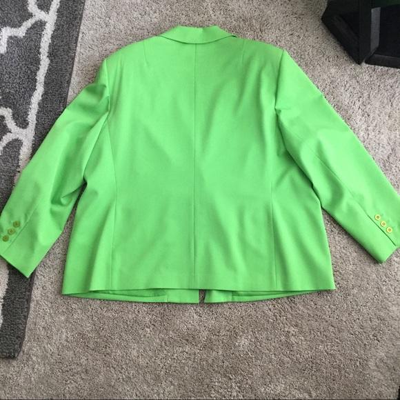 Harve Benard Other - Vibrant Green Skirt Suit
