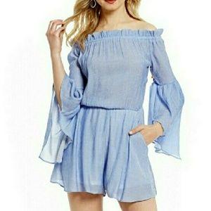 Giani Bernini Dresses & Skirts - 💸 SALE 40% OFF! 💸OFF SHOULDER ROMPER