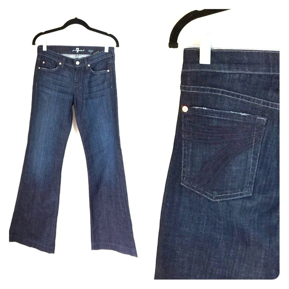 7 For All Mankind Denim - 7 For All Mankind Dojo Jeans  27 x 34