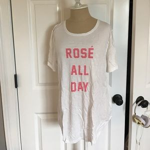 NWT rose all day old navy tshirt