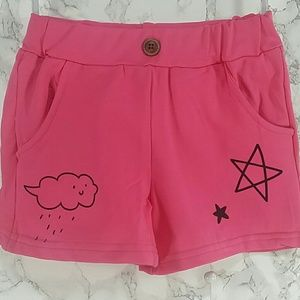 Other - Pink Cloud Shorts. Kids
