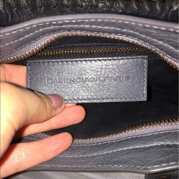 Balenciaga Bags - Balenciaga Mini City Gris Tarmac Grey Crossbody