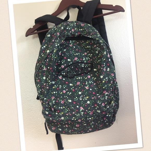 Vans floral backpack. M 5934830678b31c63dd078334 d01e1eaa17cda