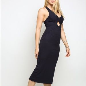 NWT Free people all the right angles dress ($148)