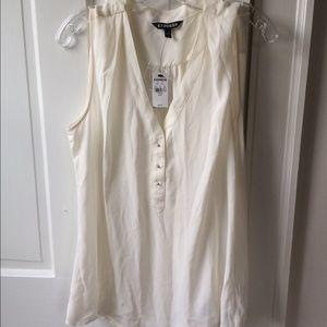 NWT Express white cami