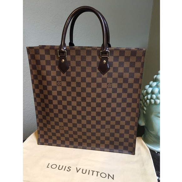 1fd9d1f7d4 Louis Vuitton Bags | Authentic Lv Sac Plat Damier | Poshmark