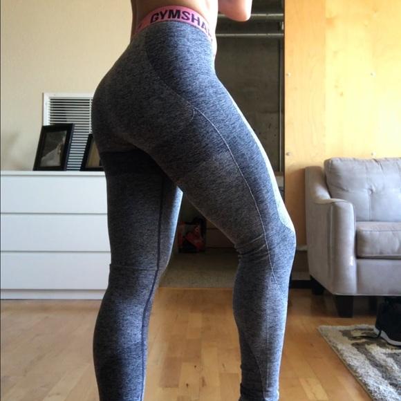 cdf172a6c19d3 Gymshark Pants - Gymshark Flex Legging V2 - size XS