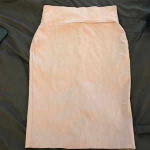 Dresses & Skirts - Fuchsia high waist pencil skirt
