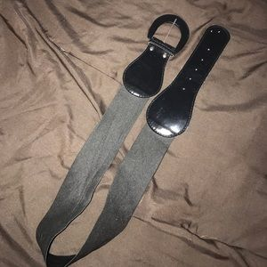 Accessories - Faux leather waist belt