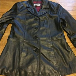 Wilsons Leather Jackets & Blazers - Wilsons maxima leather jacket size small