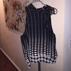 Dana Buchman Tops - Gorgeous dressy chiffon halter blouse