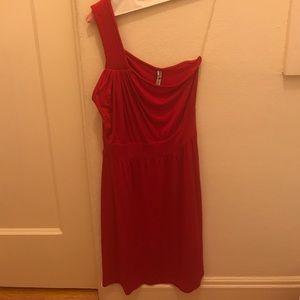 Pally loves Piperlime one shoulder dress