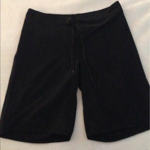 Black beach shorts/trunk