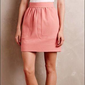 Orla Kiely Dresses & Skirts - 🎟Orla Kiely Blushed Wool Miniskirt