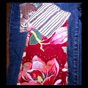 Sonoma Denim - Vintage Patchwork Boyfriend Jeans!
