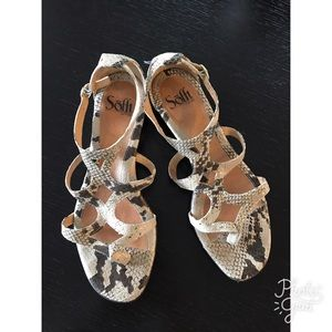 Sofft Python Print Sandals