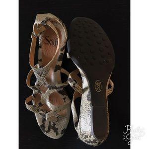 Sofft Shoes - Sofft Python Print Sandals