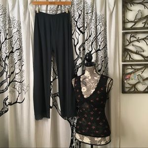 Eberjey Other - NWT Eberjey Pajamas - Sloane Pants & Sheer Top