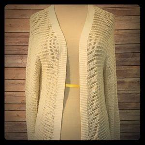 BCBGMaxAzria Sweaters - NWT BCBGMaxAzria 100% silk cardigan M/L