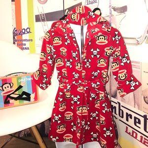 Paul Frank Unisex Toddler Robe ADORABLE
