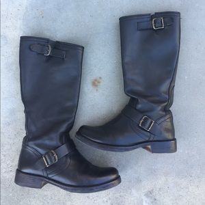 Steve Madden Shoes - Steve Veronna Veronica Leather Slouch Boots