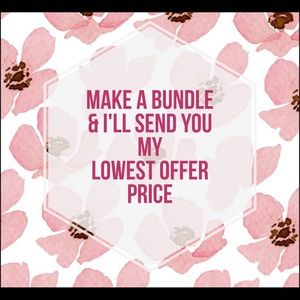 Make a bundle and I'll send you my lowest offer