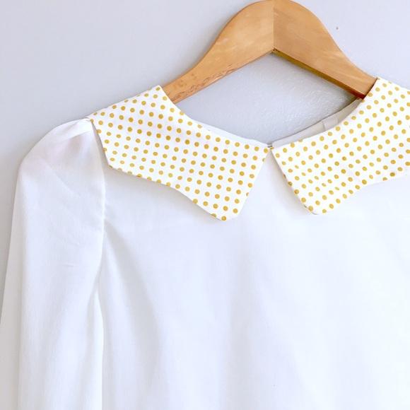 ModCloth Tops - Peter Pan Collar Top