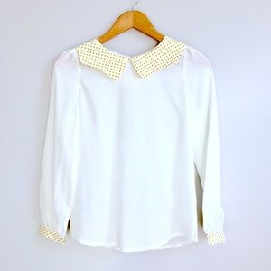 ModCloth Tops - Peter Pan Collar Top