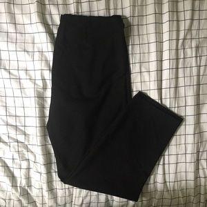 Eileen Fisher Pants - EILEEN FISHER Large Straight Leg Black Pants