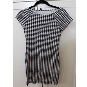 Houndstooth Bodycon dress new