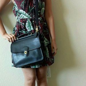 Coach Handbags - Vintage Black Coach Crossbody Bag