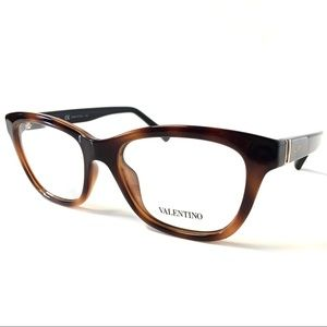 Valentino Eyeglasses Tortoise with Case