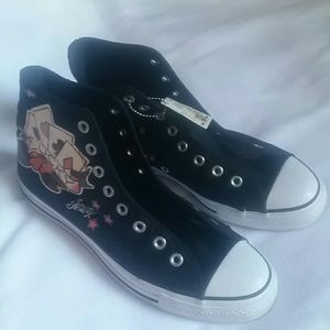 Converse Other - Sailor Jerry LUCKY Converse  Cards Rockabilly
