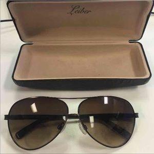 Judith Leiber Accessories - Judith Leiber Aviator Sunglasses