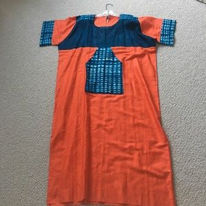 African Style Dress, S/M
