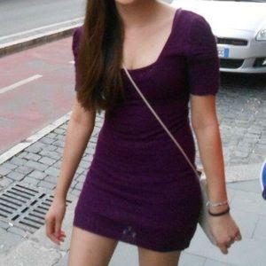 FP purple lace dress