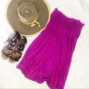 Magenta Tube Top Dress!