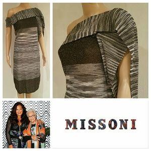 Missoni Dresses & Skirts - $1200 NWT MISSONI Draped Scarf Dress
