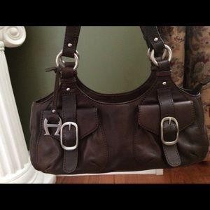 Etienne Aigner genuine leather handbag