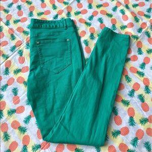 Cache Denim - 🌼 Green Skinny Jeans