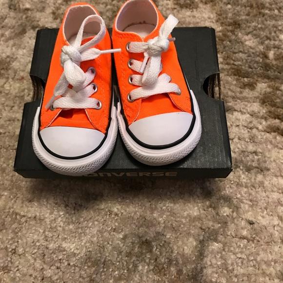 Converse Shoes | Orange Toddler