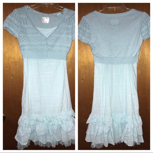 Justice Dresses Dress Shrug Eyelet Fabric Size 18 Poshmark