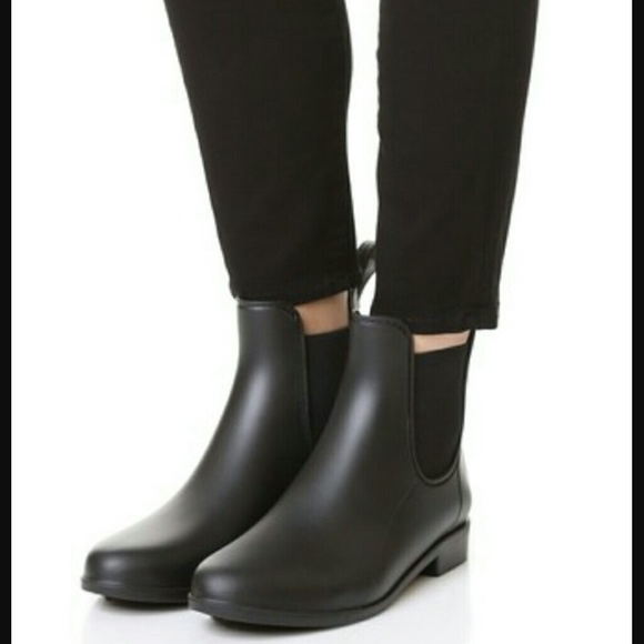 Sam Edelman Tinsley Chelsea Matte Rubber Rain Booties r48TIdNYGS