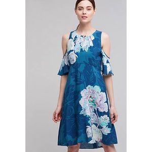 Anthropologie Maeve Floral Print Dress NWT