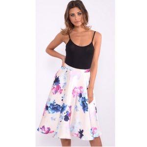 ASOS Dresses & Skirts - NWT Rare London Floral Midi Skirt