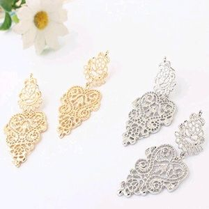 Jewelry - New Gold Or Silver Retro Bohemian Vintage Earrings