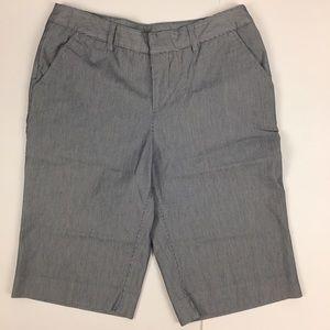 Jaclyn Smith Pants - Jacklyn Smith Striped Shorts