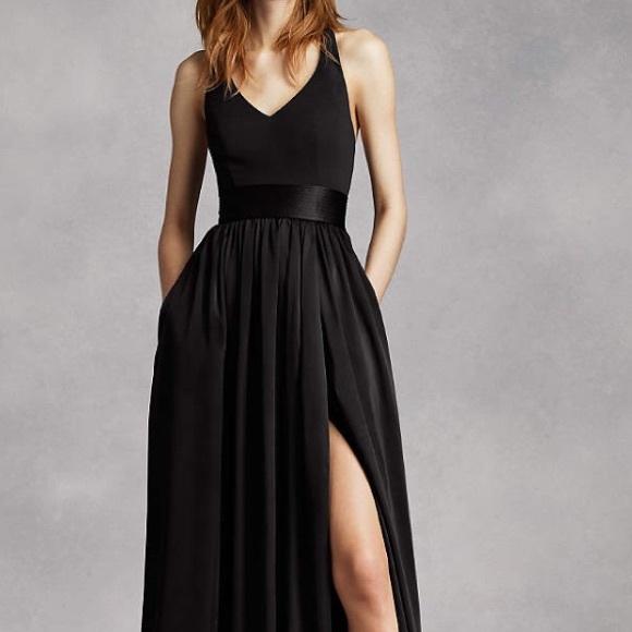 25 off white by vera wang dresses skirts vera wang for Vera wang v neck wedding dress