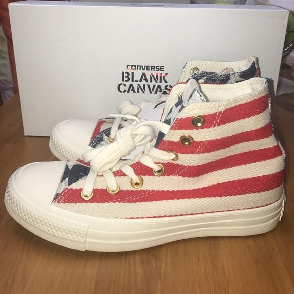 40a6d58456f5 Converse blank canvas Flag